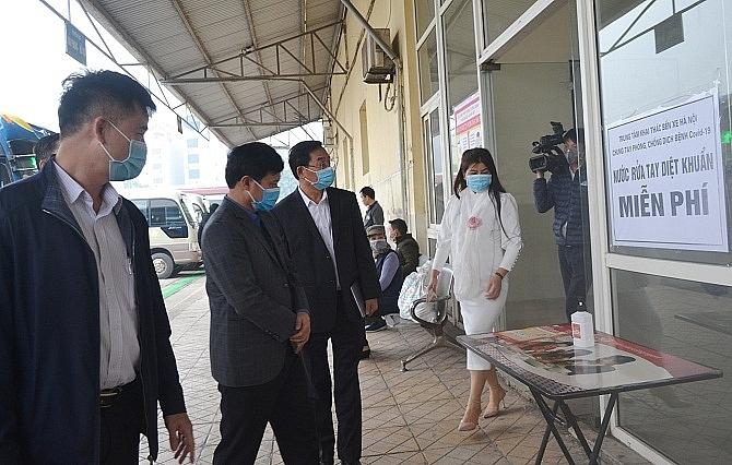 Hà Nội: Các cấp công đoàn tăng cường biện pháp phòng, chống dịch Covid-19