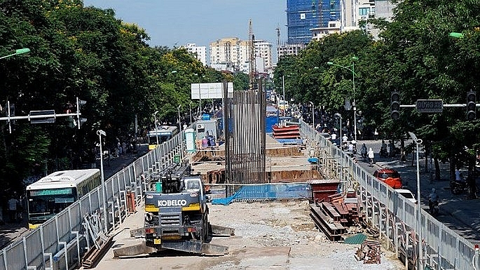 Hà Nội: Phân luồng giao thông phục vụ thi công đường sắt đô thị Nhổn – ga Hà Nội