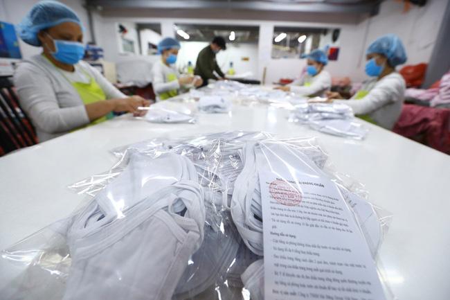 Ngành may cung ứng khoảng 6 triệu khẩu trang chống dịch Covid-19