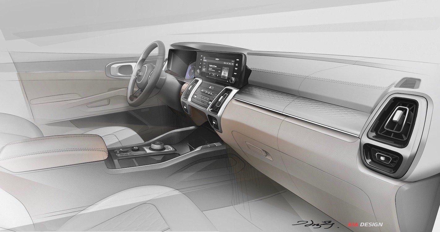 Nội thất Kia Sorento 2021 như xe sang