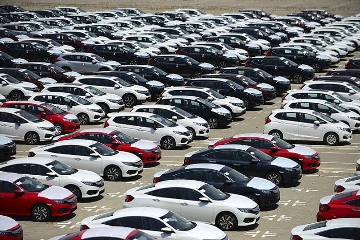 Nhập khẩu ô tô tháng 1/2020 sụt giảm mạnh