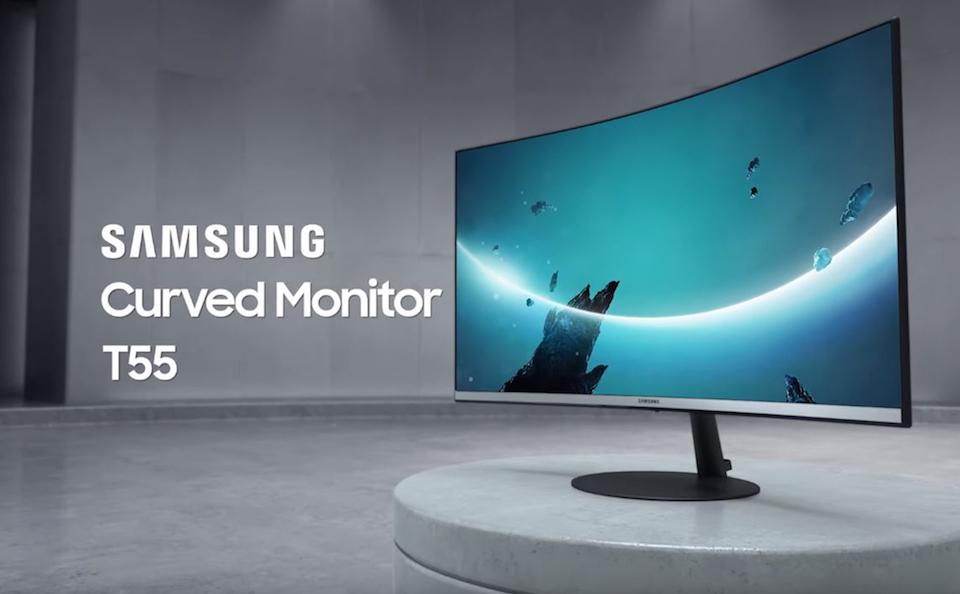 Màn hình cong mới của Samsung có chức năng bảo vệ thị lực