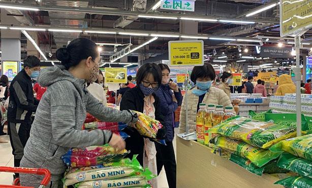 Hà Nội bảo đảm đủ hàng hóa phục vụ người dân