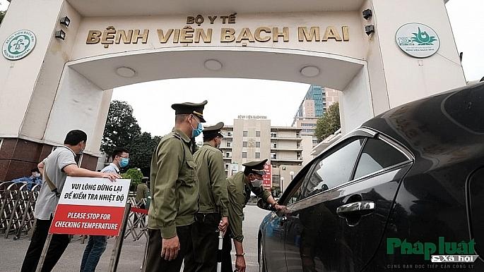 Ghi nhận một phóng viên nhiễm Covid-19, thêm 2 ca liên quan đến BV Bạch Mai