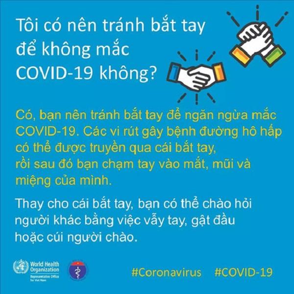 Cách chào hỏi an toàn nhất trong mùa dịch COVID-19