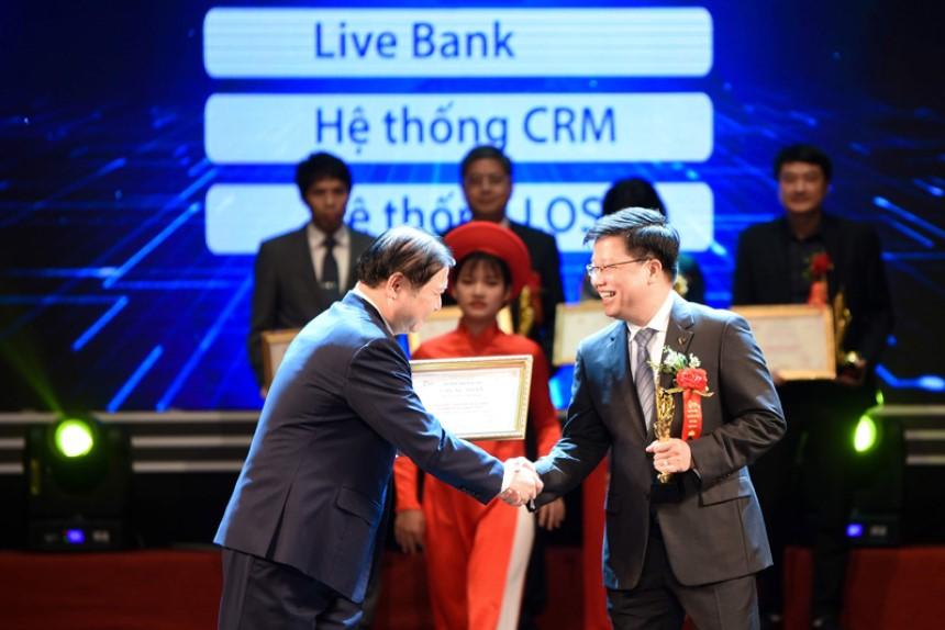 TPBank được vinh danh là ngân hàng xuất sắc trong chuyển đổi số