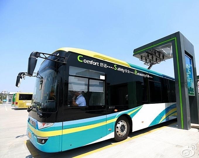 Hà Nội sẽ sử dụng xe buýt điện giai đoạn 2021-2025