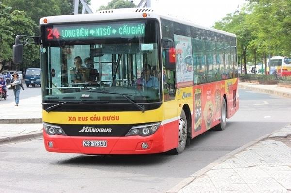 Hà Nội tăng cường xe buýt phục vụ dịp Tết Nguyên đán 2020