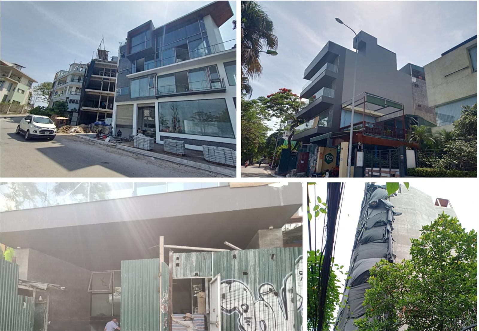 Hà Nội: Lãnh đạo UBND phường Quảng An cho rằng sai phạm xây dựng do lịch sử