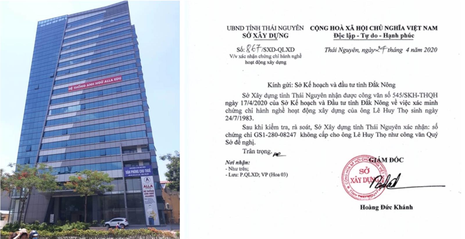 Công ty Trico1 im lặng bất thường trước vụ việc giả mạo hồ sơ dự thầu