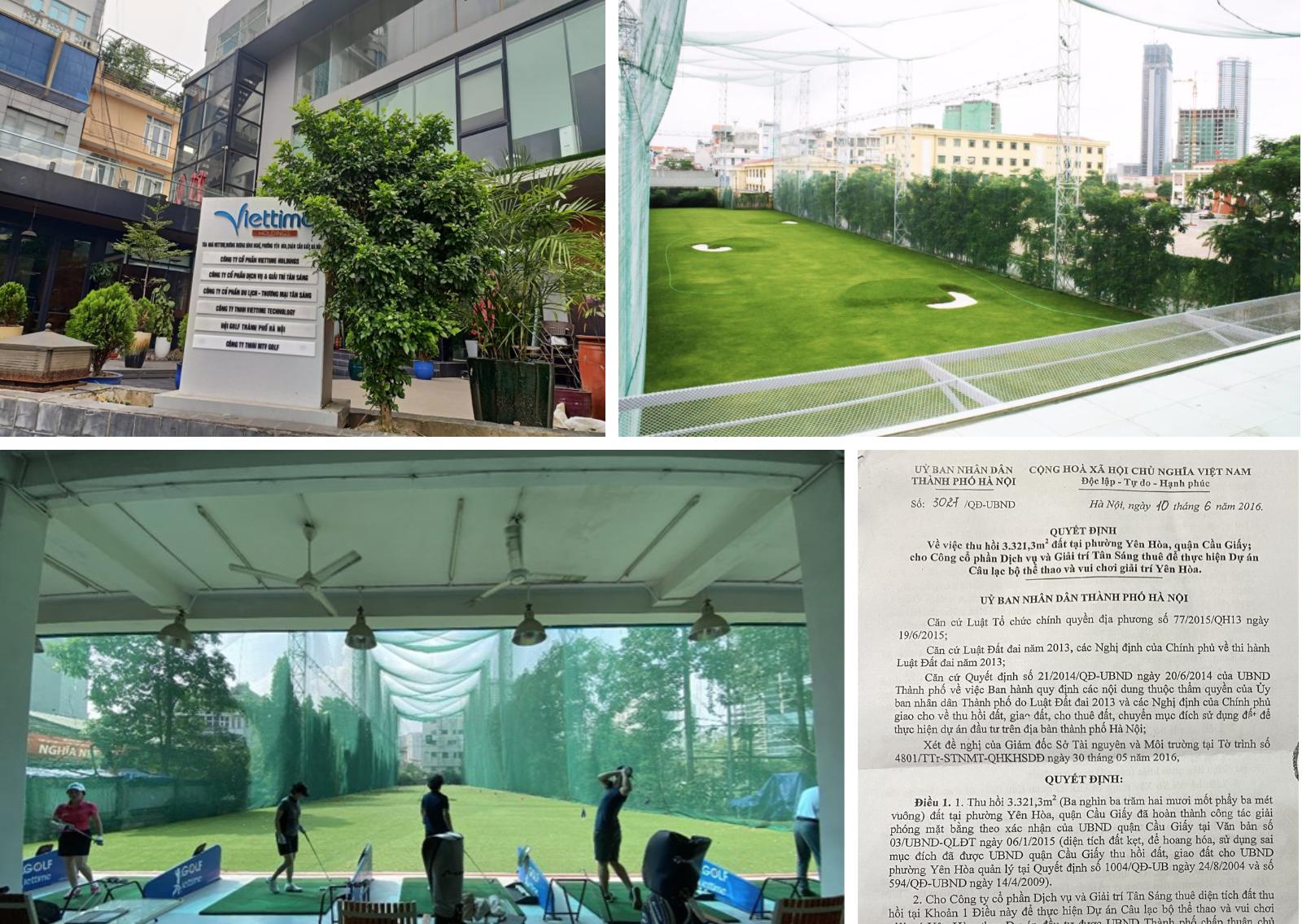 Bài học quản lý đất đai nhìn từ dự án CLB Thể thao & Vui chơi giải trí Yên Hoà