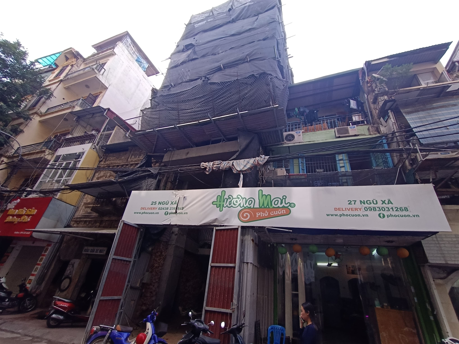 Quận Ba Đình: Quy hoạch phố cũ đi vào bế tắc vì những vi phạm TTXD