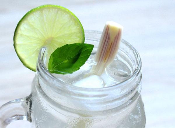Công thức làm nước chanh sả gừng giải rượu ngày Tết hiệu quả