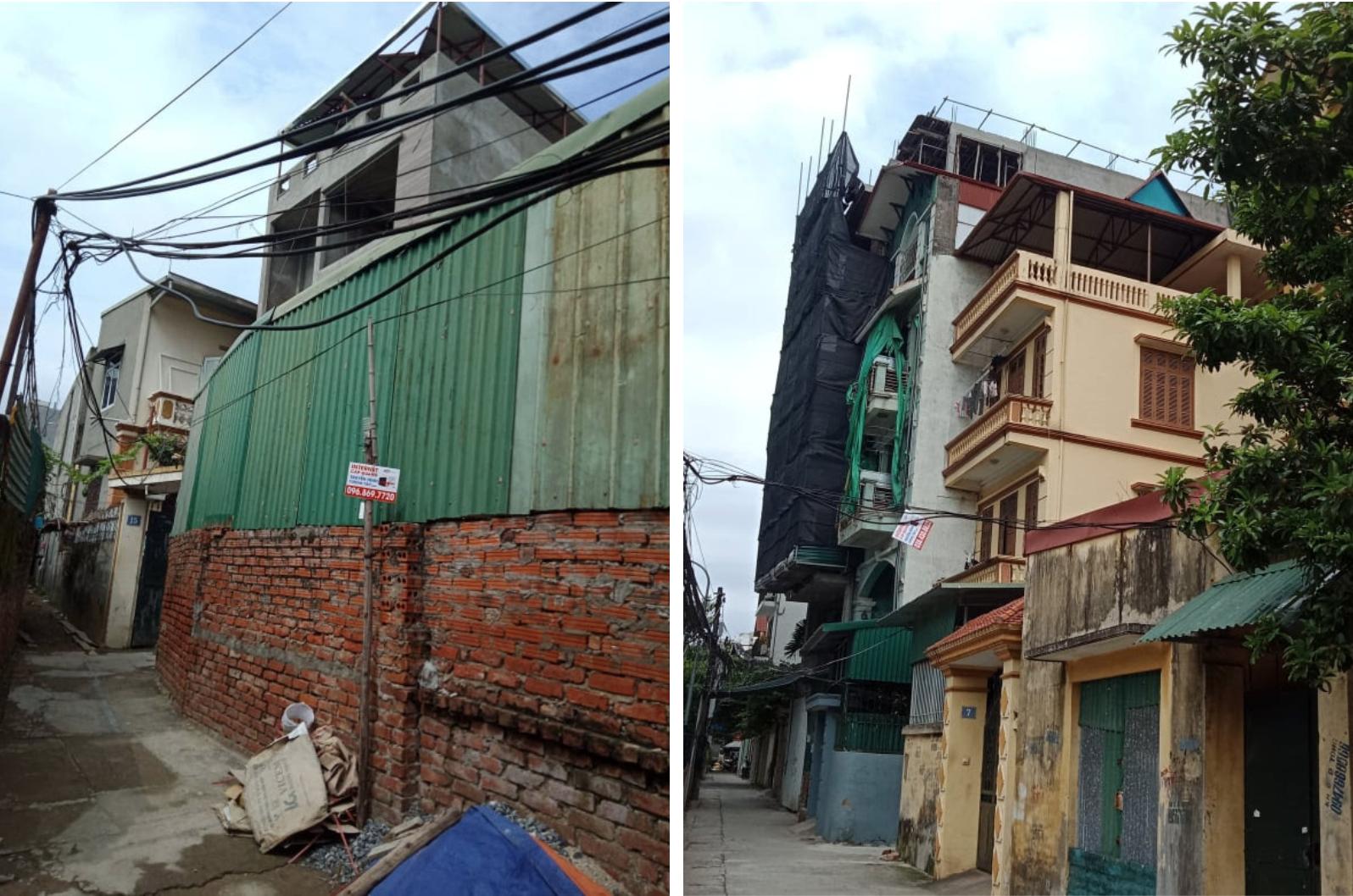 Xuân La (Tây Hồ): Nở rộ công trình xây dựng trên đất nông nghiệp