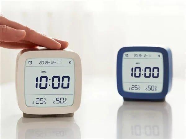 Xiaomi ra mắt đồng hồ báo thức có đo độ ẩm và nhiệt độ