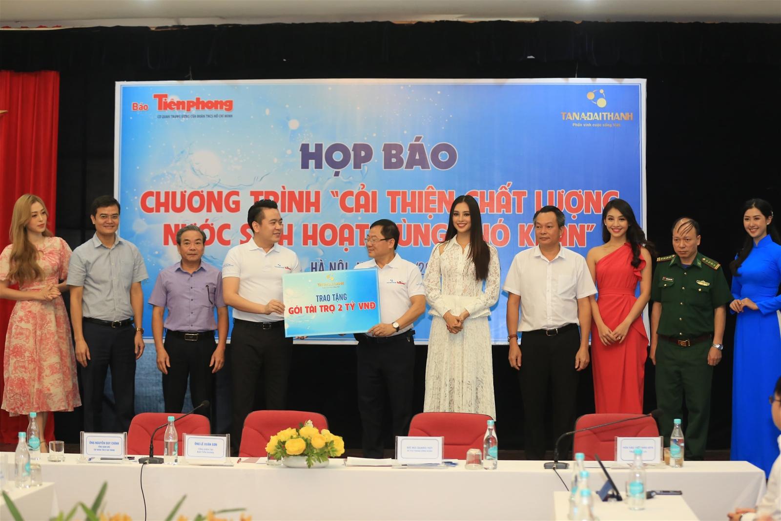 Tân Á Đại Thành chung tay cải thiện nguồn nước sinh hoạt vùng khó khăn