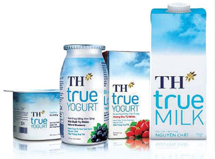 Bảng giá sữa TH True Milk cập nhật mới nhất