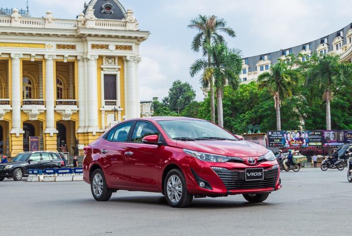 Bảng giá xe Toyota tại Việt Nam cập nhật tháng 4/2020