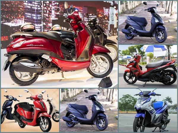Bảng giá xe máy Yamaha tháng 4/2020 cập nhật mới nhất