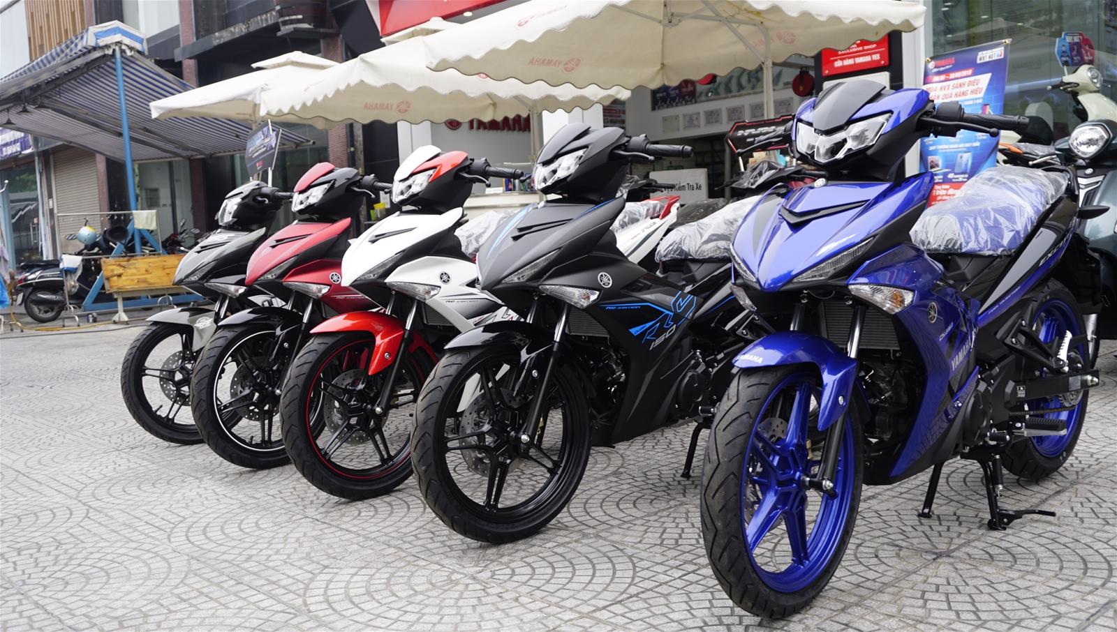 Bảng giá xe máy Yamaha cập nhật tháng 7/2020