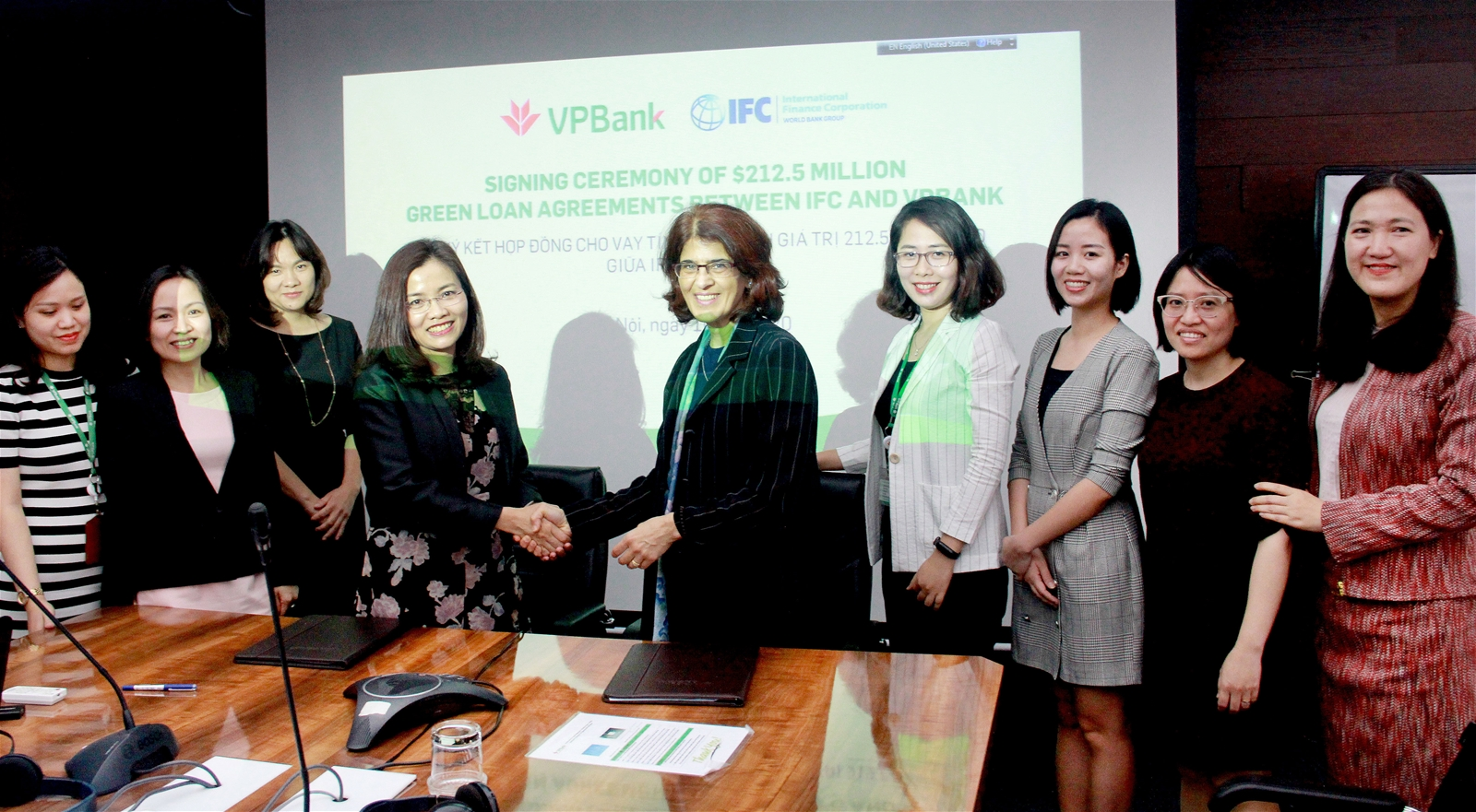 VPBank ký kết thỏa thuận huy động khoản đồng tài trợ xanh lên tới 212,5 triệu US