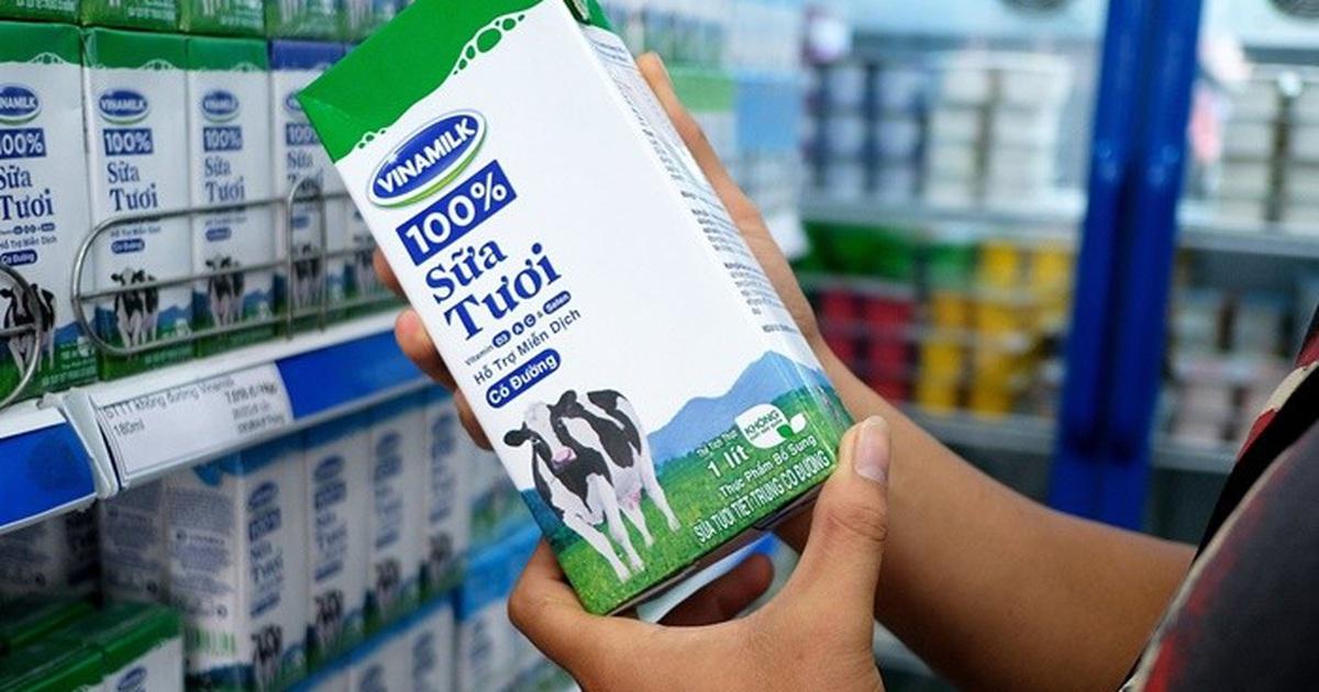 Bảng giá sữa Vinamilk 2020 cập nhật mới nhất