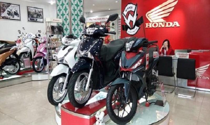 Bảng giá xe máy Honda tháng 4/2020