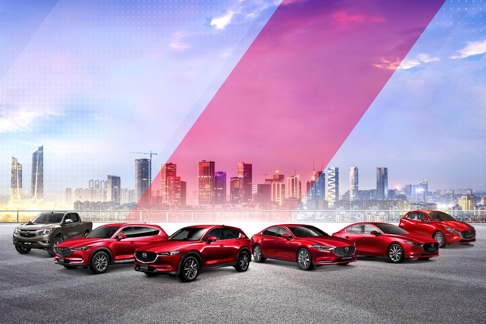 Bảng giá xe Mazda tháng 12/2020 cập nhật mới nhất