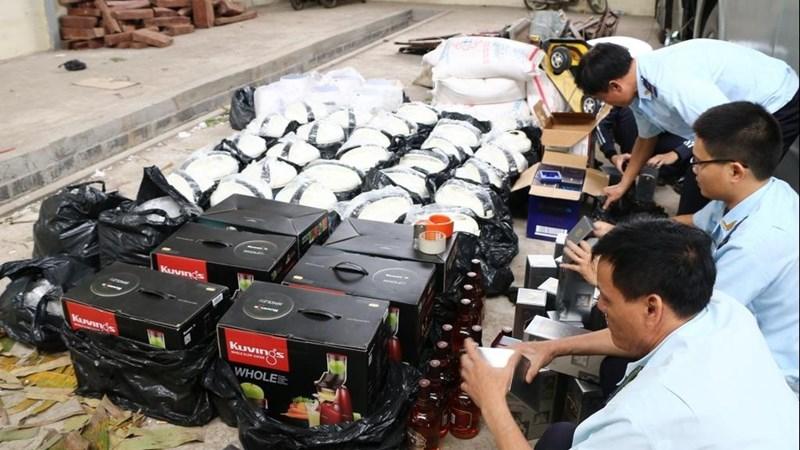 Tình trạng buôn lậu bùng phát dịp cuối năm