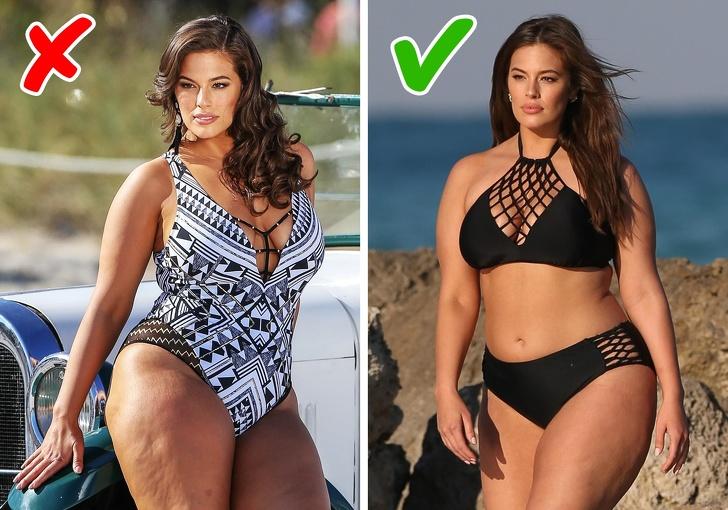 Cách chọn bikini cho người béo che dấu nhược điểm dễ dàng