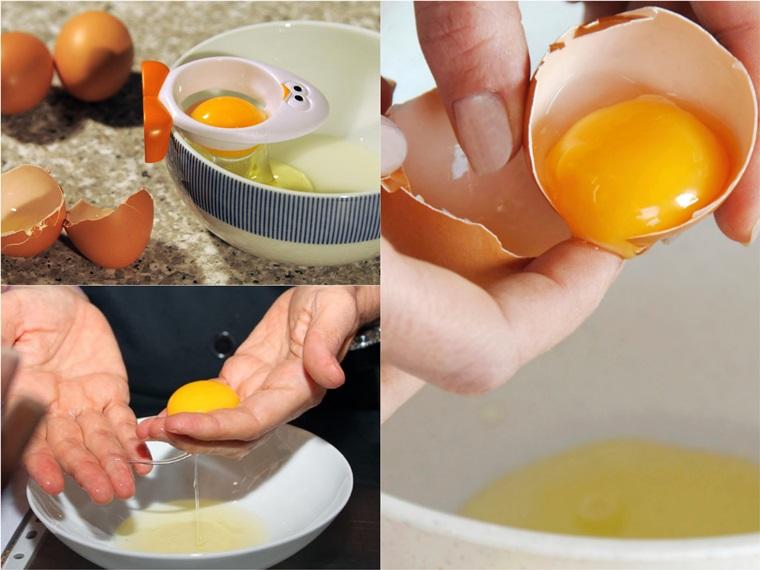 5 cách tách lòng đỏ trứng nhanh và dễ chẳng cần khéo léo
