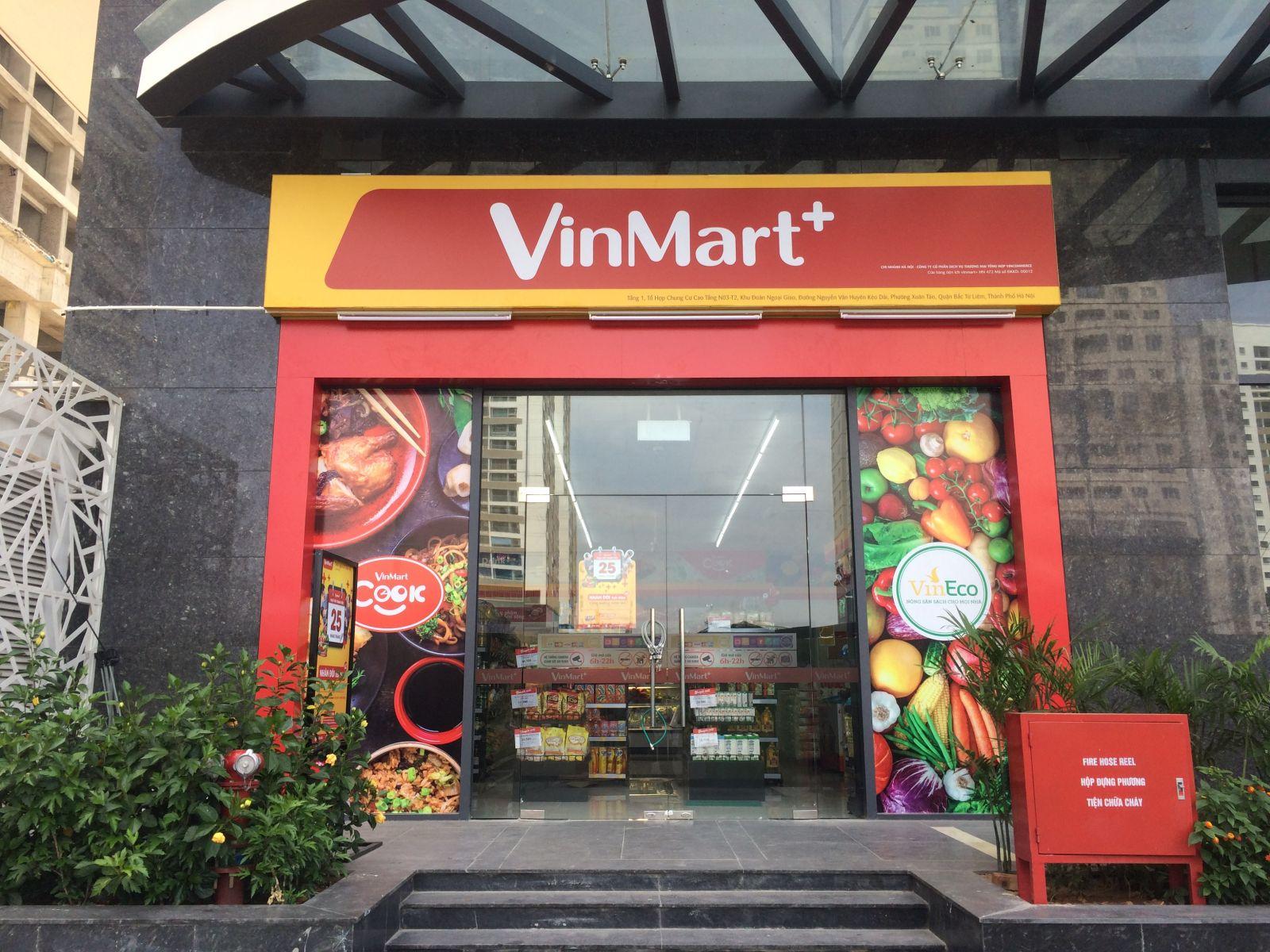 Danh sách hệ thống siêu thị, cửa hàng Vinmart + tại TP HCM