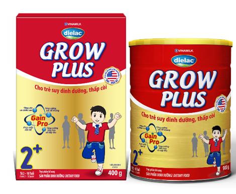 Giá sữa Grow Plus của Vinamilk bao nhiêu?