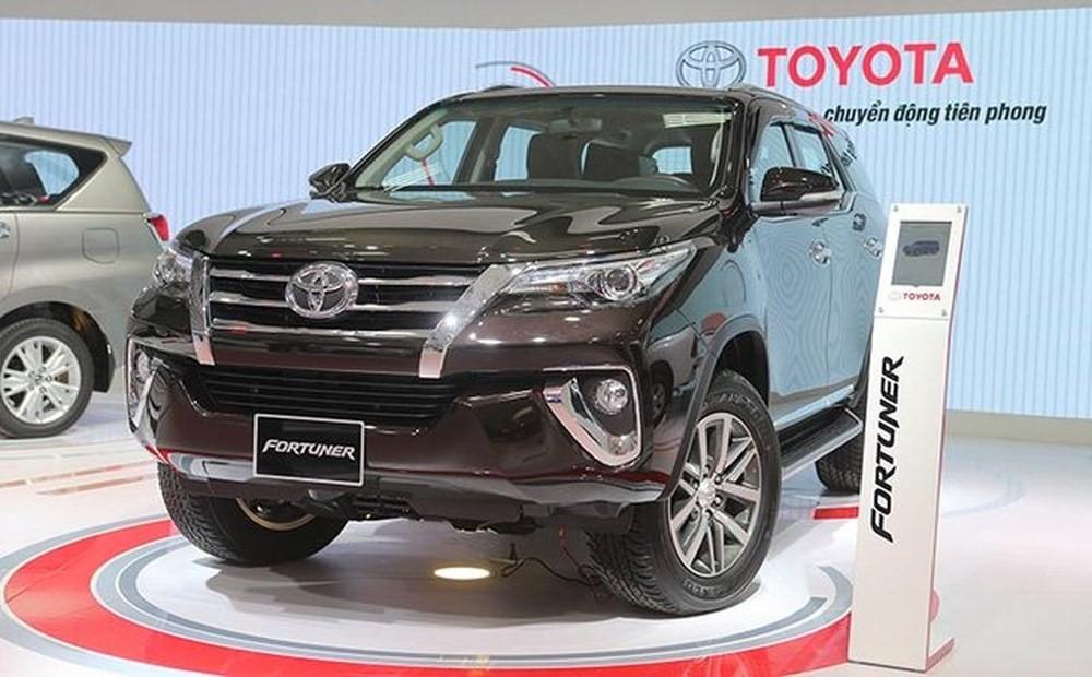 Bảng giá xe ô tô Toyota tháng 10/2020 mới nhất hôm nay