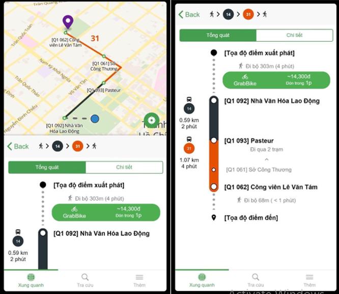5 tính năng đáng thử của ứng dụng bắt xe buýt Go!Bus