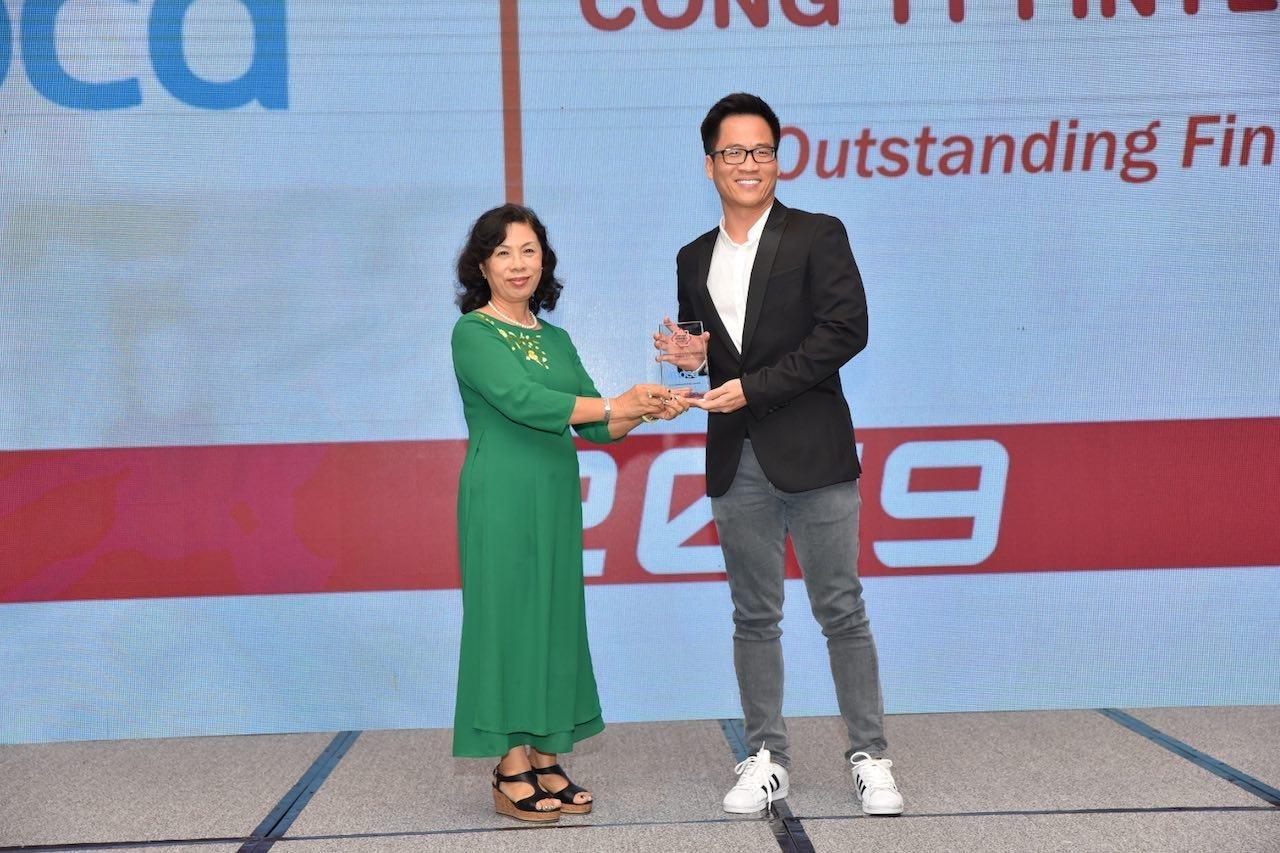 Moca tiếp tục được vinh danh là 'Công ty Fintech tiêu biểu'