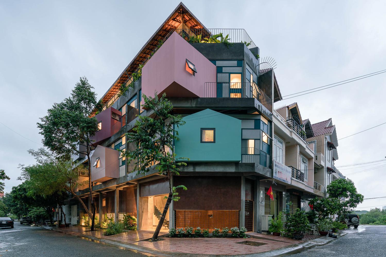 Căn hộ cho thuê ở Vũng Tàu hút mắt với kiến trúc lạ