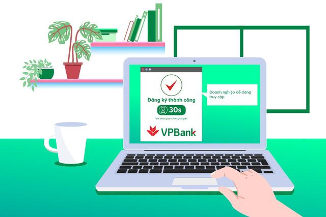 Doanh nghiệp đăng ký tài khoản online tại VPBank hưởng ưu đãi khủng