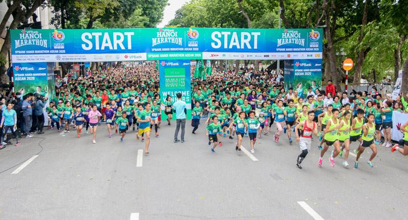 Marathon không chỉ là rèn luyện sức khỏe