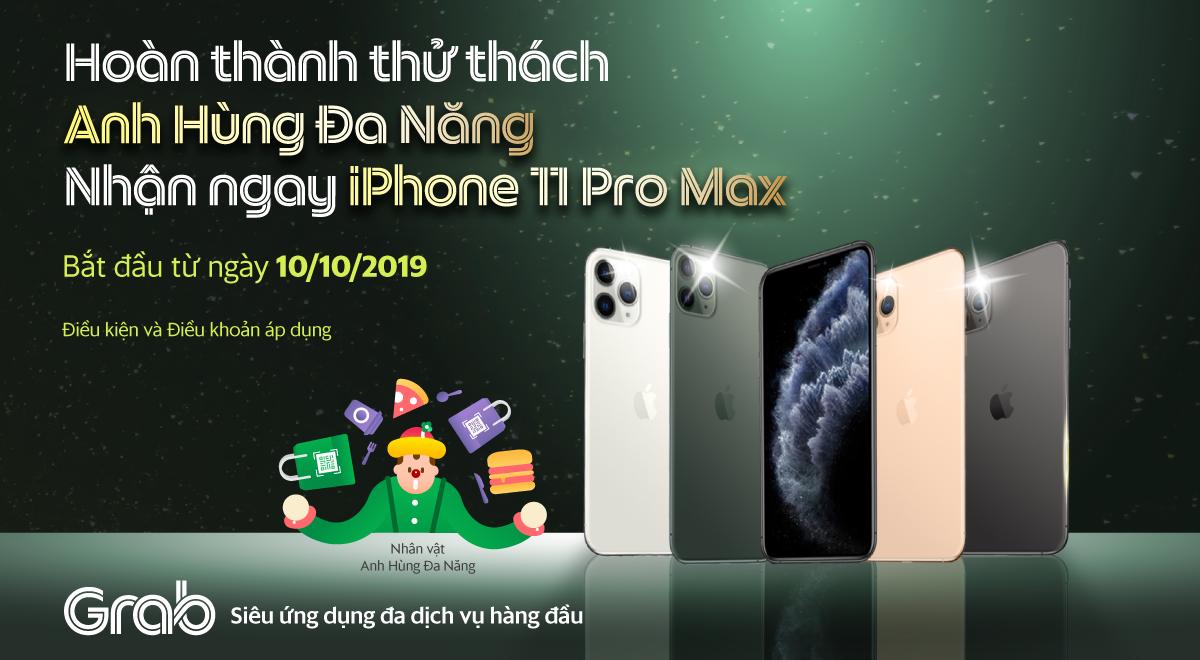 Hoàn thành thử thách, xách ngay iPhone 11 Pro Max 256GB