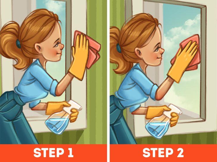 8 lỗi nên tránh khi vệ sinh nhà cửa