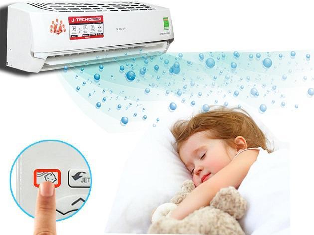 Những tiêu chí giúp chọn máy điều hòa tốt cho trẻ