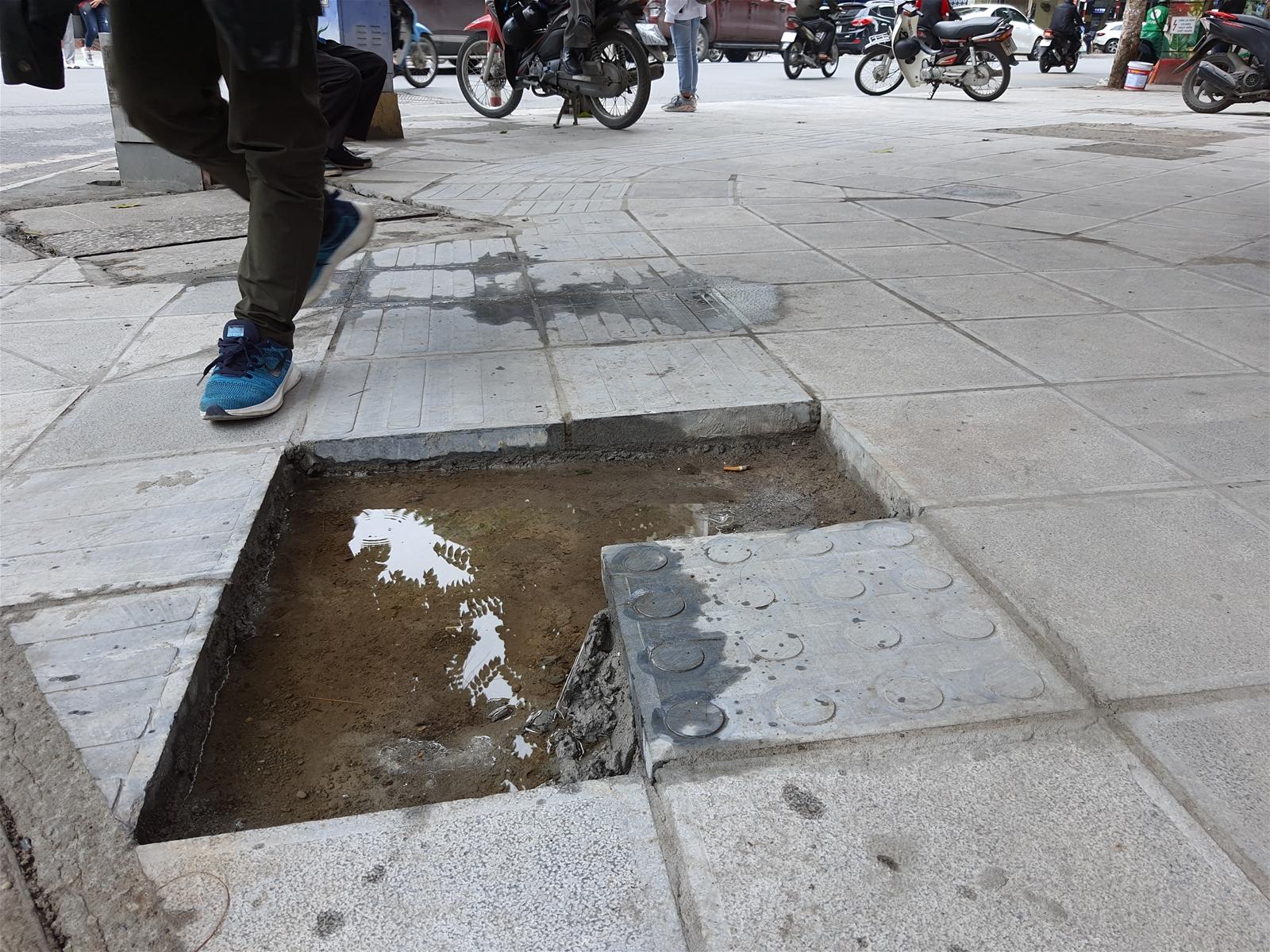 Hà Nội: Mỹ quan đô thị nhìn từ những viên đá lát vỉa hè