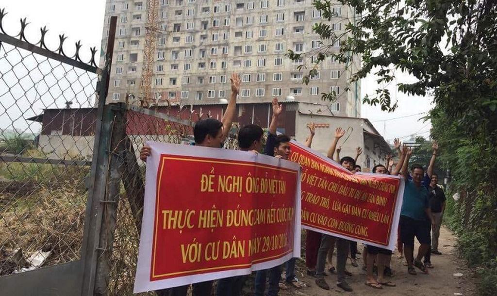 Thanh tra TP.HCM chỉ đạo giải quyết khiếu nại tại Tân Bình Apartment