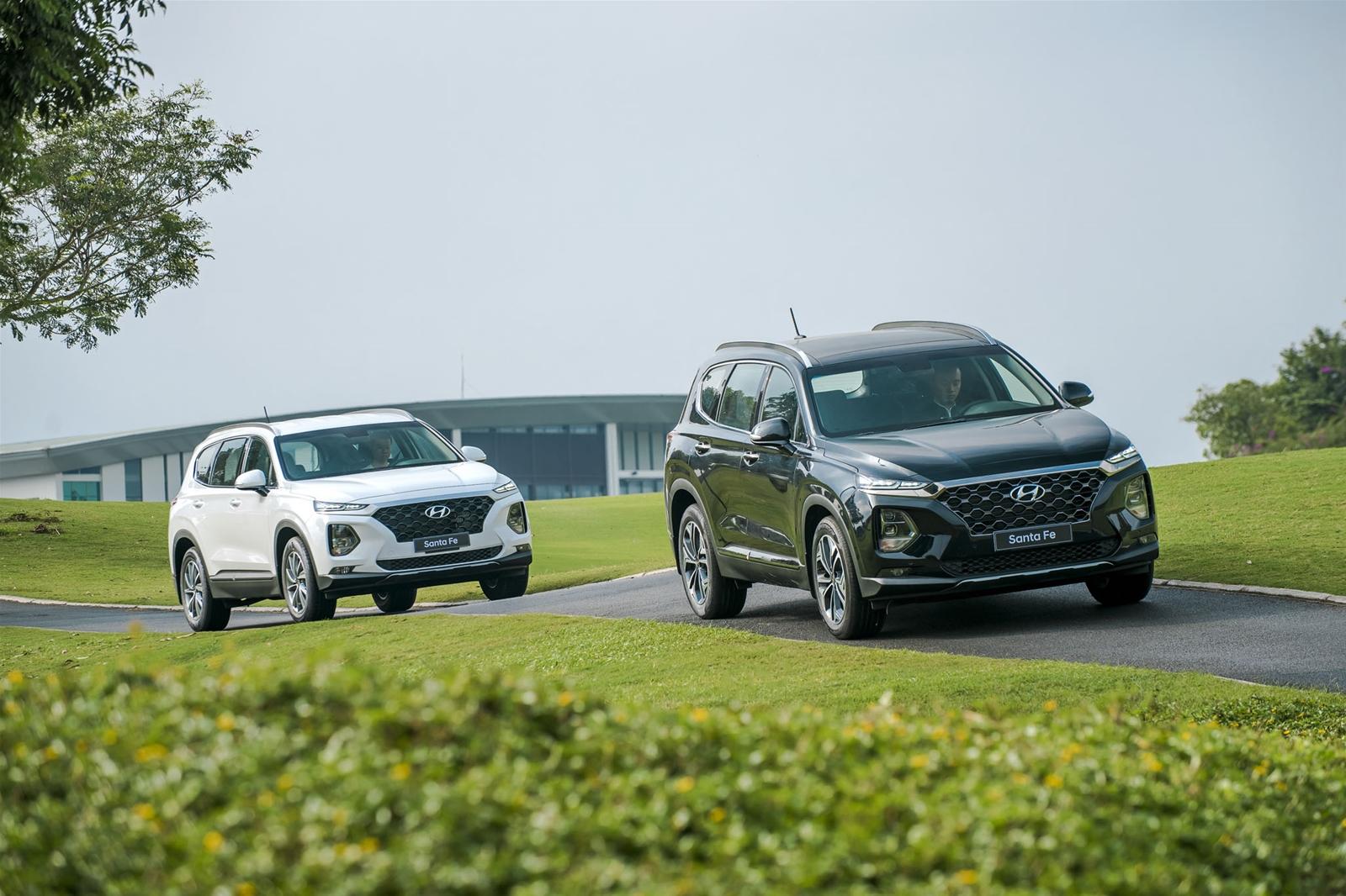 Xe SUV Hyundai tại Việt Nam được tăng hai năm bảo hành