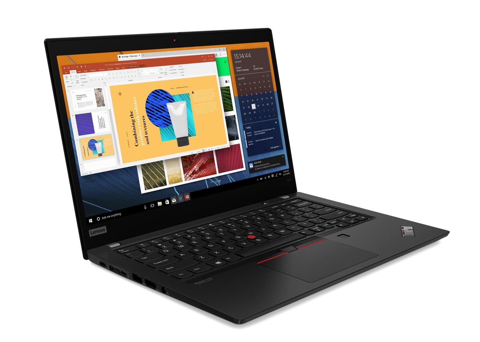 ThinkPad X13 độ bền chuẩn quân đội Mỹ, cấu hình mạnh