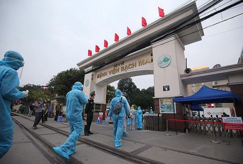 Nguồn lây nhiễm chính ở Bệnh viện Bạch Mai không phải từ nhân viên y tế