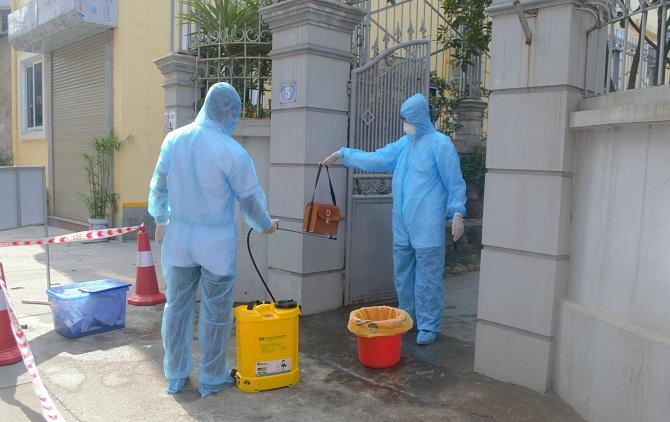 Hướng dẫn vệ sinh khử khuẩn khi cách ly y tế tại nhà