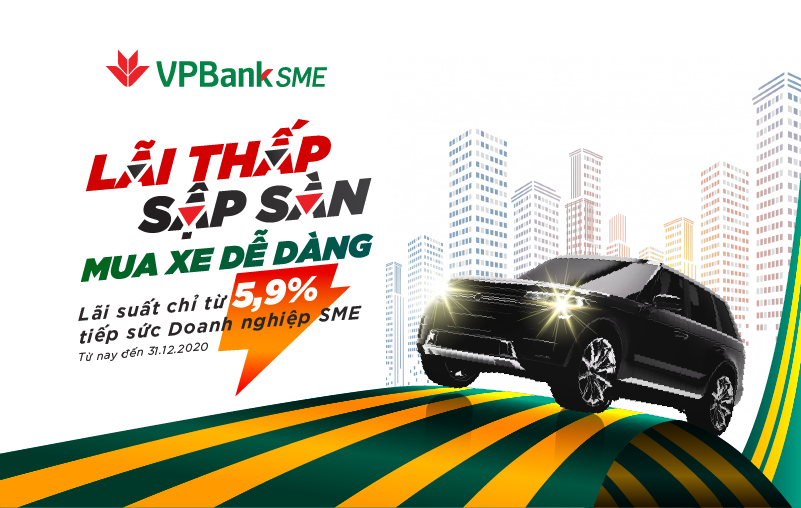 """Sở hữu ô tô 'siêu tốc"""" với gói vay cực hấp dẫn từ VPBank"""