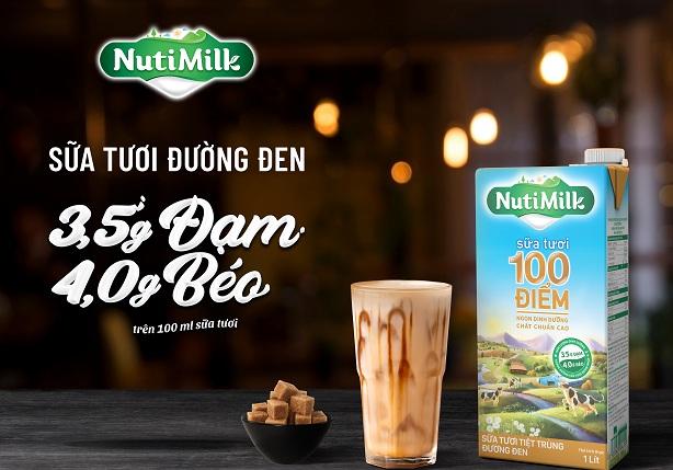 Sữa tươi NutiMilk - Hương vị ngon tuyệt, giúp mẹ dụ bé uống sữa trong